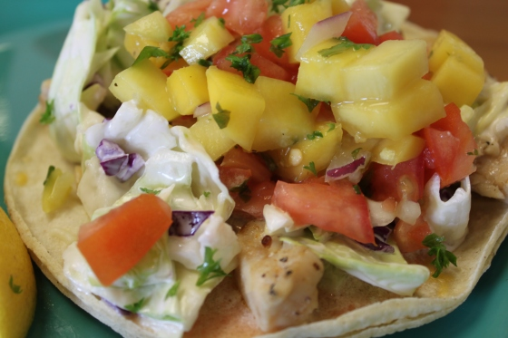 Fish Tacos with 17 flavours