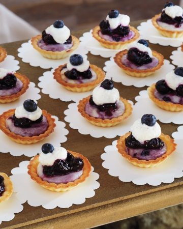 Blueberry Cheesecake Tartlets