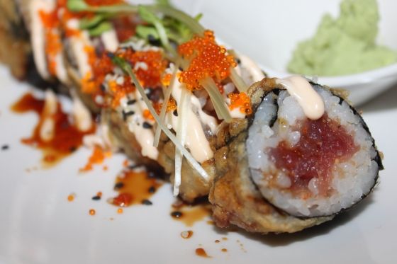 Oisho Roll - Spicy Tuna In a Deep-Fried Tempura Batter