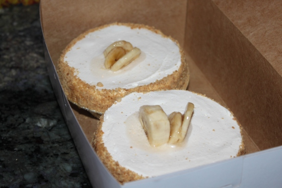 Banana Cream Pie from Leoda's Kitchen and Pie Shop