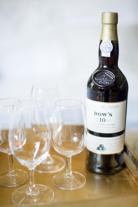 cap off the night with some port: dow's ten year old tawny port