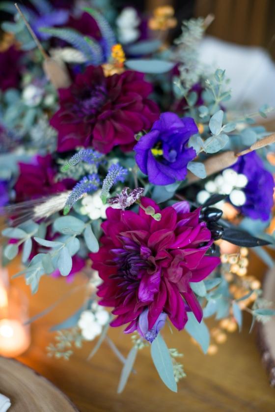 fall harvest floral closeup