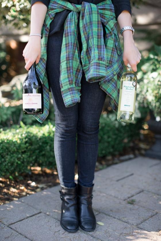 Bringing in the bottles
